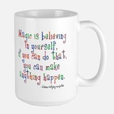 Magic Believe Large Mug
