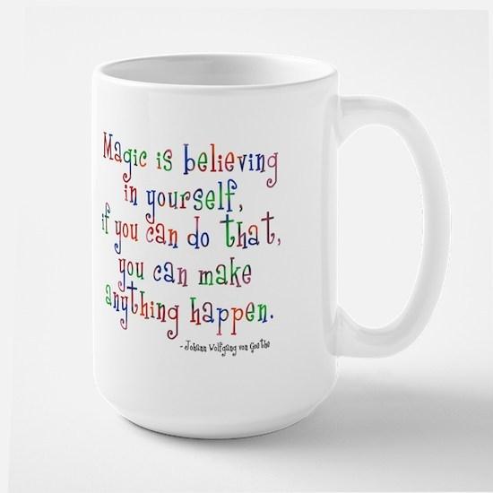 Magic Believe Large Mug