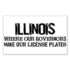 Illinois Governor Decal