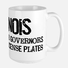 Illinois Governor Large Mug