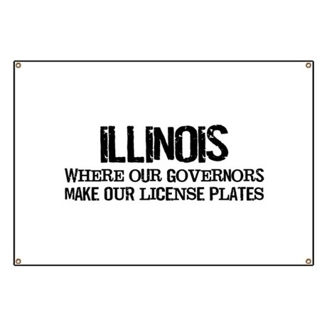Illinois Governor Banner