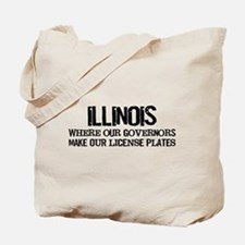 Illinois Governor Tote Bag