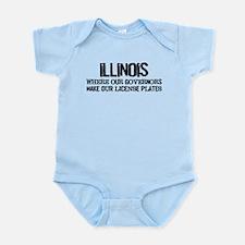 Illinois Governor Infant Bodysuit