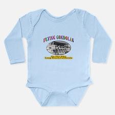 Flying Gondolas Long Sleeve Infant Bodysuit