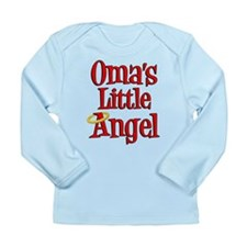 Oma's Little Angel Long Sleeve Infant T-Shirt