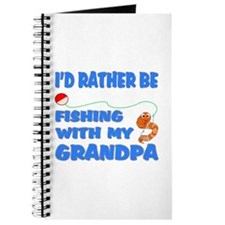 Rather Be Fishing With Grandp Journal