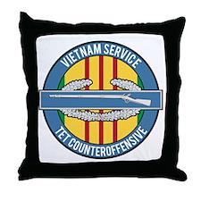 Vietnam TET 69 CIB Throw Pillow