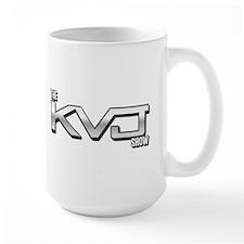 KVJ Logo Mugs