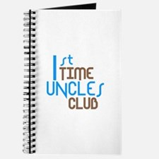 1st Time Uncles Club (Blue) Journal