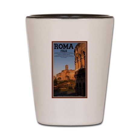 Morning in Rome Shot Glass