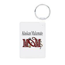 Alaskan Malamute Keychains
