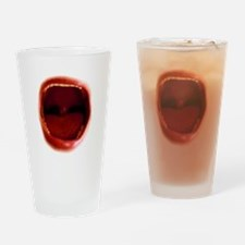 RED red Pint Glass