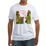 Wild Parrots Fitted T-Shirt