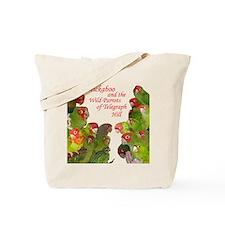 Wild Parrots Tote Bag