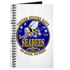 USN Navy Seabees We Build We Journal