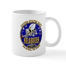 USN Navy Seabees We Build We Mug