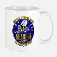 USN Navy Seabees We Build We Mug