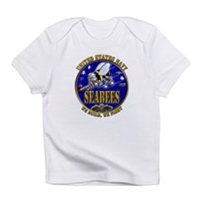 USN Navy Seabees We Build We Infant T-Shirt