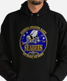 USN Navy Seabees We Build We Hoodie