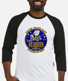 USN Navy Seabees We Build We Baseball Jersey