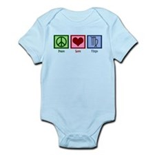 Peace Love Virgo Infant Bodysuit