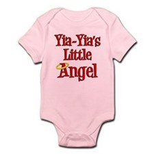 Yia-Yia's Little Angel Onesie