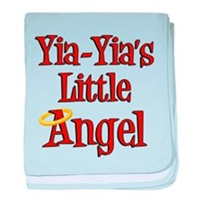Yia-Yia's Little Angel baby blanket