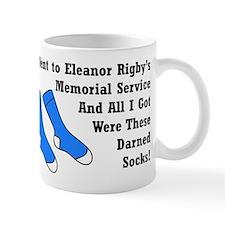 Eleanor Rigby - Darned Socks Mug