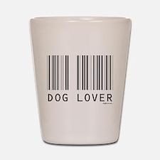 Dog Lover Barcode Shot Glass