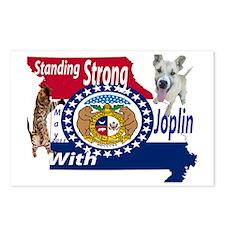 Unique Joplin tornado Postcards (Package of 8)