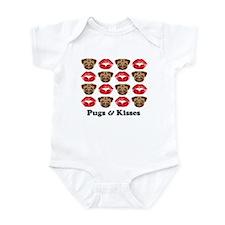 Pugs and Kisses Infant Creeper
