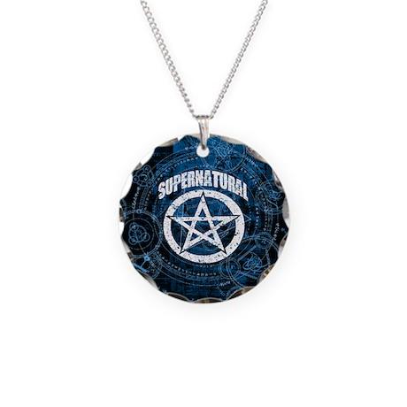 Supernatural Necklace Circle Charm