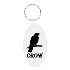 Black Crow Keychains