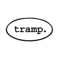 tramp. Patches