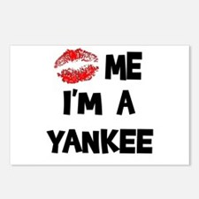 Kiss Me I'm A Yankee Postcards (Package of 8)
