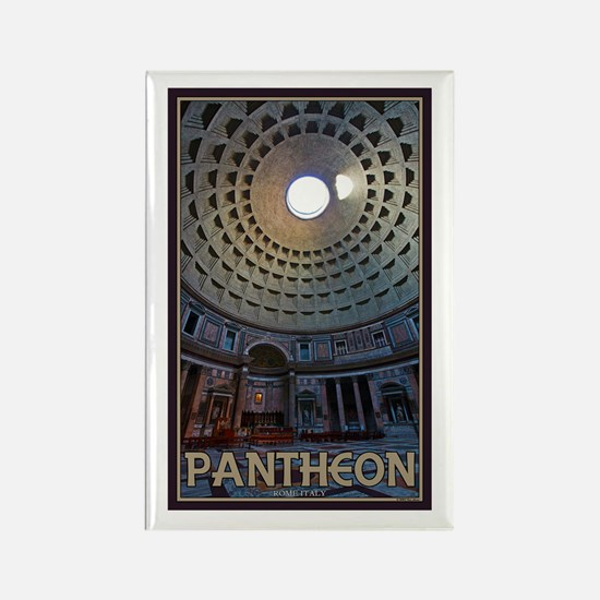 The Pantheon Rectangle Magnet