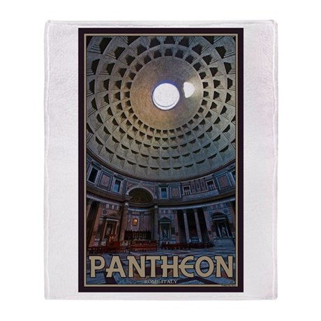 The Pantheon Throw Blanket