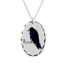 Raven on Raven Necklace