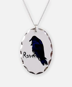 Raven on Raven Necklace