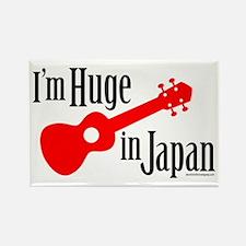 I'm Huge in Japan! Rectangle Magnet
