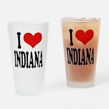 I Love Indiana Pint Glass