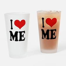 I Love Me Pint Glass