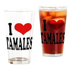 I Love Tamales Pint Glass