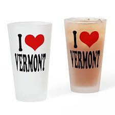I Love Vermont Pint Glass
