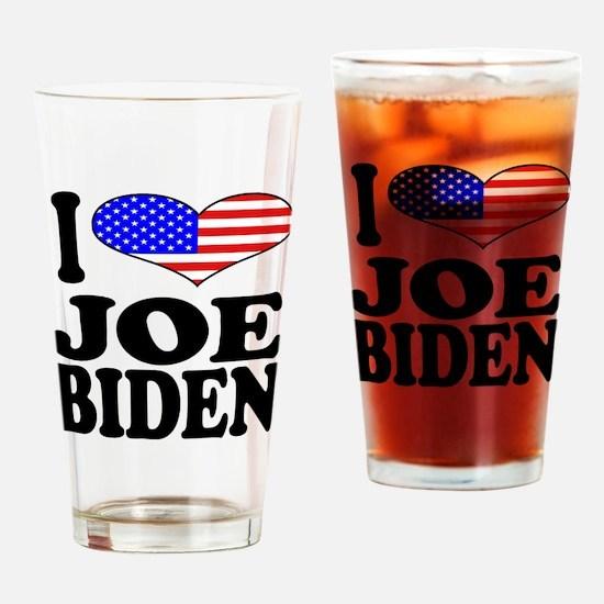 I Love Joe Biden Pint Glass