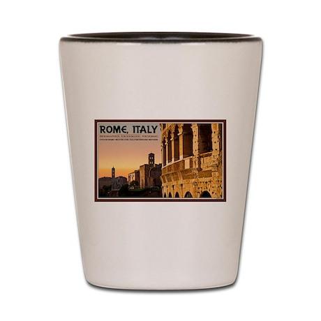 Rome Sunset Shot Glass
