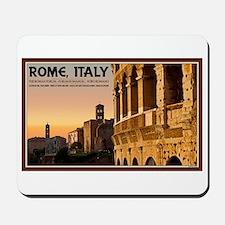 Rome Sunset Mousepad