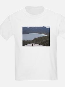 Elph Wineglass Bay,Tasmania Kids T-Shirt
