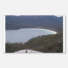 Elph Wineglass Bay,Tasmania Rectangle Decal