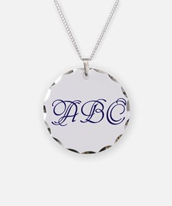 Monogram Necklace